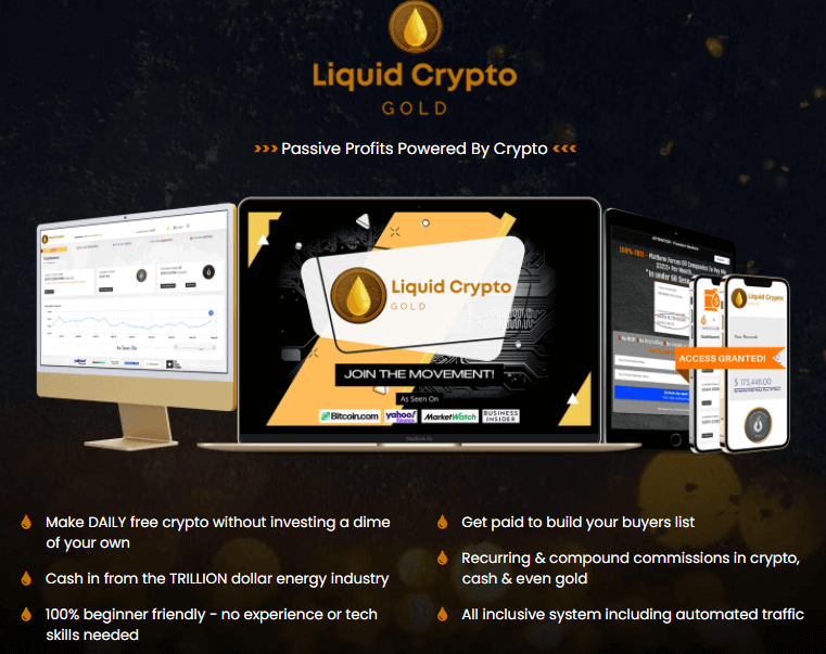 What is Liquid Crypto Gold?