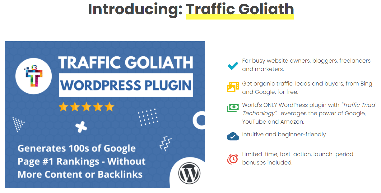 Traffic Goliath Review - What is Traffic Goliath?