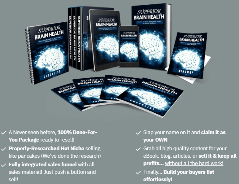 What is Superior Brain Health Review (PLR)?